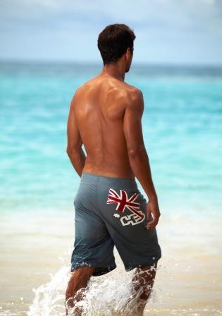 pantaloncino da mare uomo modello Waikiki