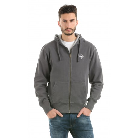 HB SWEAT & ZIP carbongrey