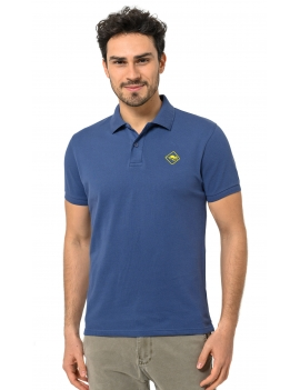 HB COLOR POLO Indigo-Yellow