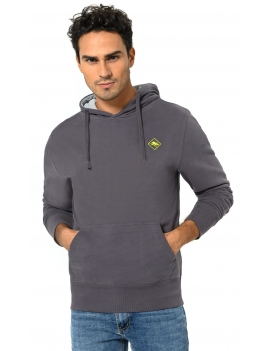 HB SWEAT Carbongrey-Yellow