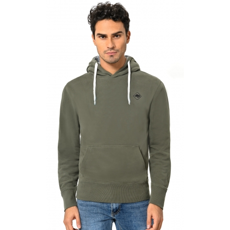 HB SWEAT Militarygreen-Black