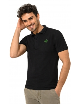 HB POLO Black-Green
