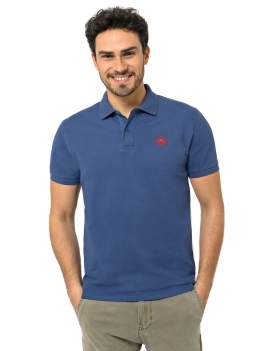 HB POLO Indigo-Red