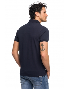 HB POLO Navy-Red