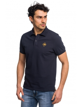 HB POLO Navy-Yellow
