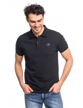 HB POLO Black-Indigo