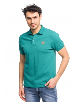 HB POLO Deepgreen-Orange