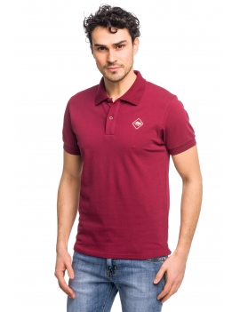 HB POLO Scarlet-Sand