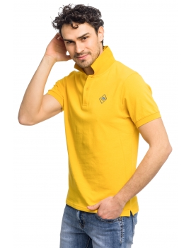 HB POLO Yellow-Stormyblue